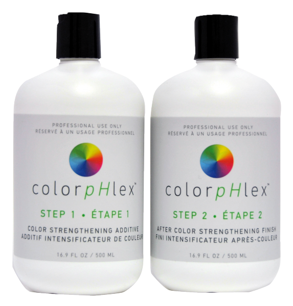 ColorpHlex Salon Kit, Step 1 und Step 2, jeweils 500ml