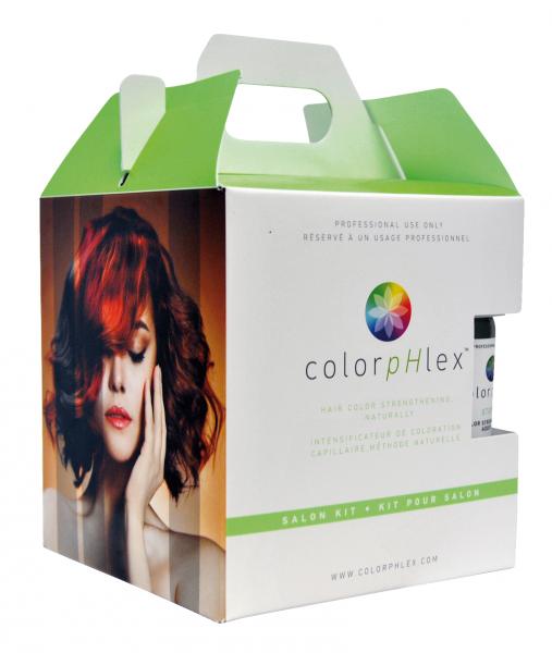 ColorpHlex Salon Kit, 1 x Step 1 und 2 x Step 2, je 500ml