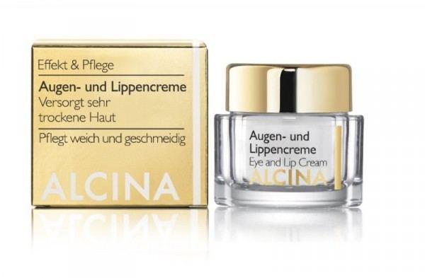 ALCINA Augen- und Lippencreme, 15ml