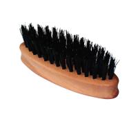 KELLER Bartbürste ellipsenförmig mit reinen Wildschweinborsten