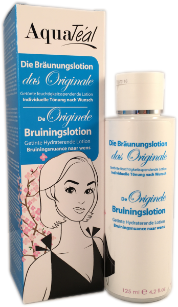 AQUATÉAL Bräunungslotion Original, 125 ml