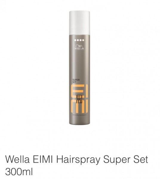 Friseur Produkte24 - Wella Eimi Super Set Finishing Spray 300ml